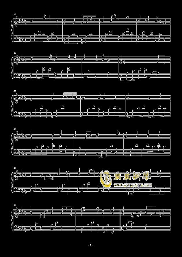 流行 二钢琴谱 第3页