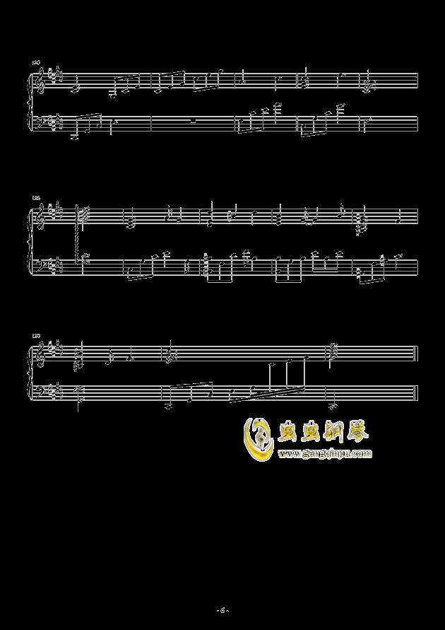 流行 三钢琴谱 第6页