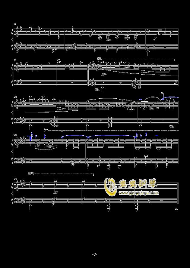 谐谑曲钢琴谱 第7页