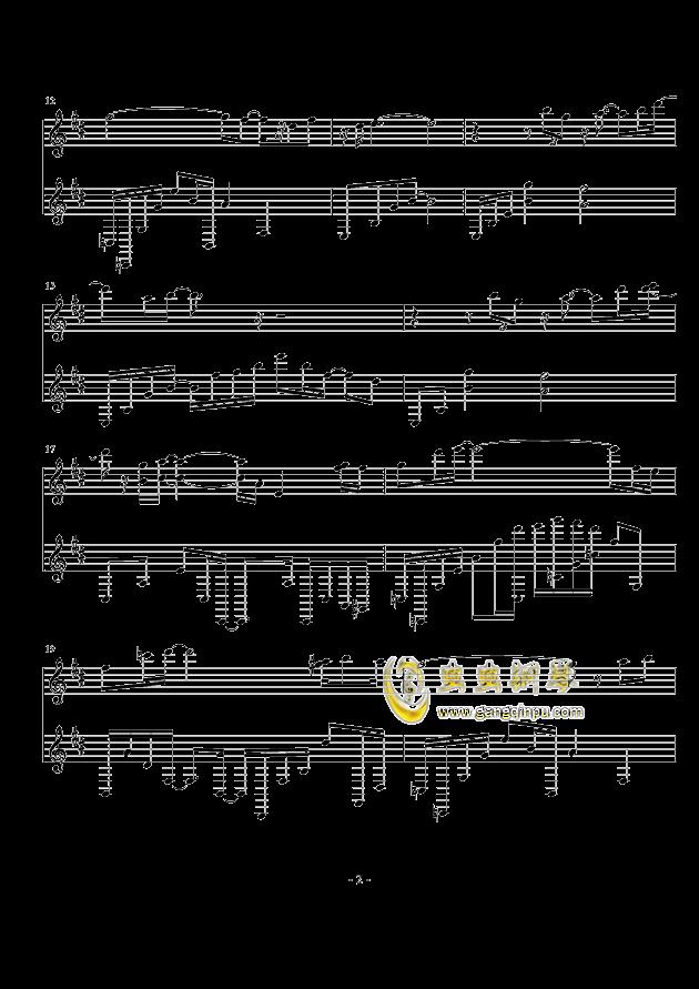 空灵钢琴谱 第2页
