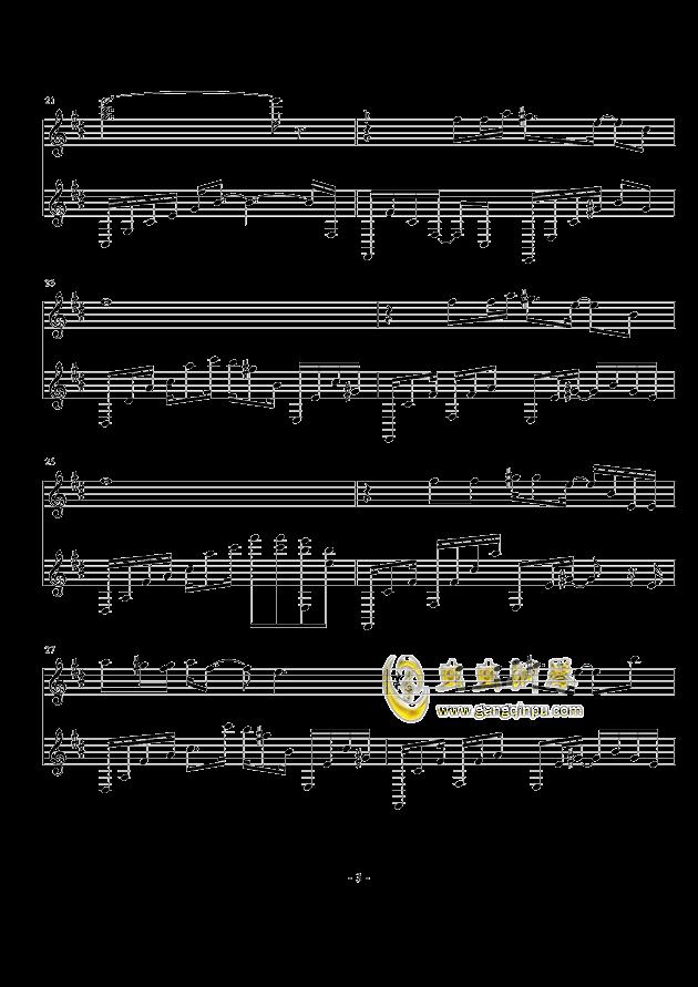 空灵钢琴谱 第3页