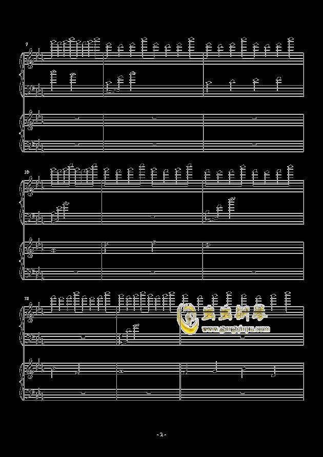 风与秋夜钢琴谱 第2页