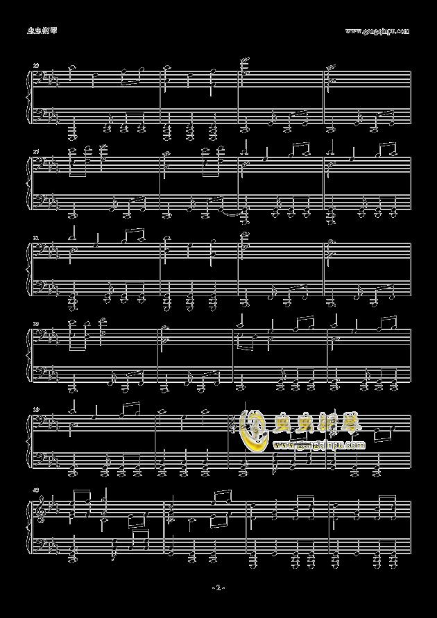 权力的游戏钢琴谱 第2页