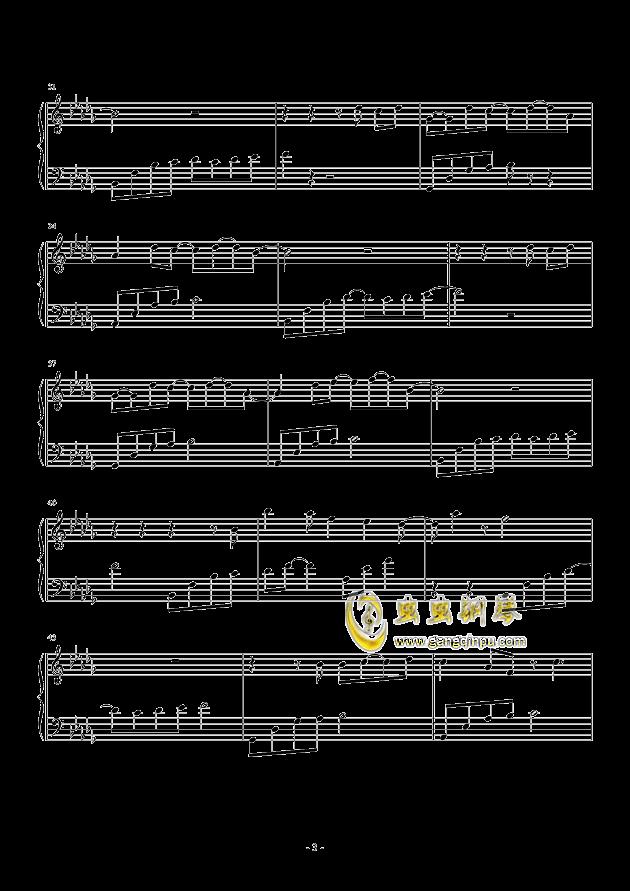 我好像在哪见过你钢琴谱 第3页