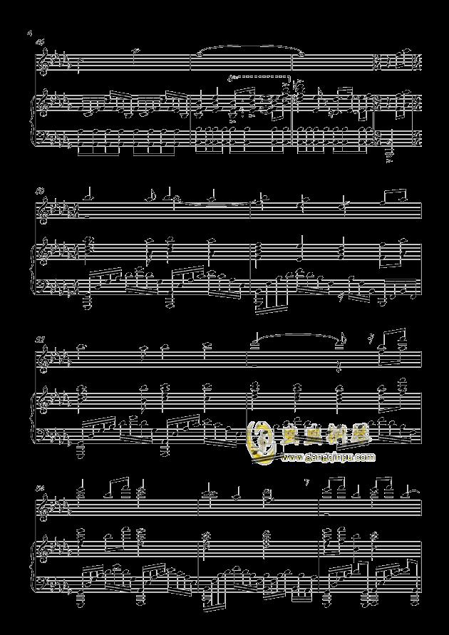 大鱼海棠钢琴谱 第4页