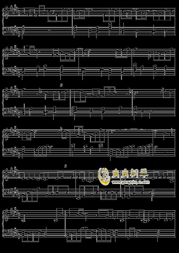 摩天轮的思念钢琴谱 第2页