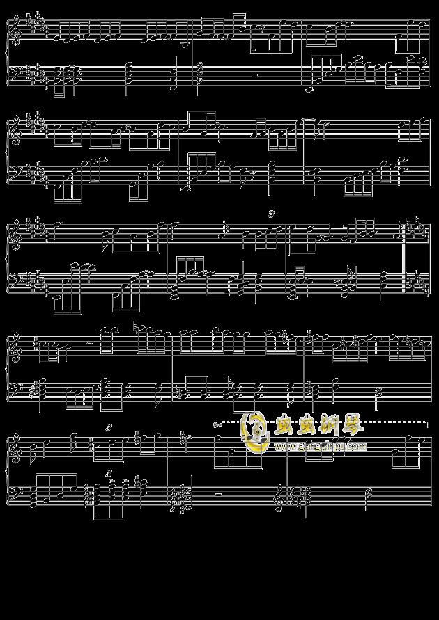 摩天轮的思念钢琴谱 第3页