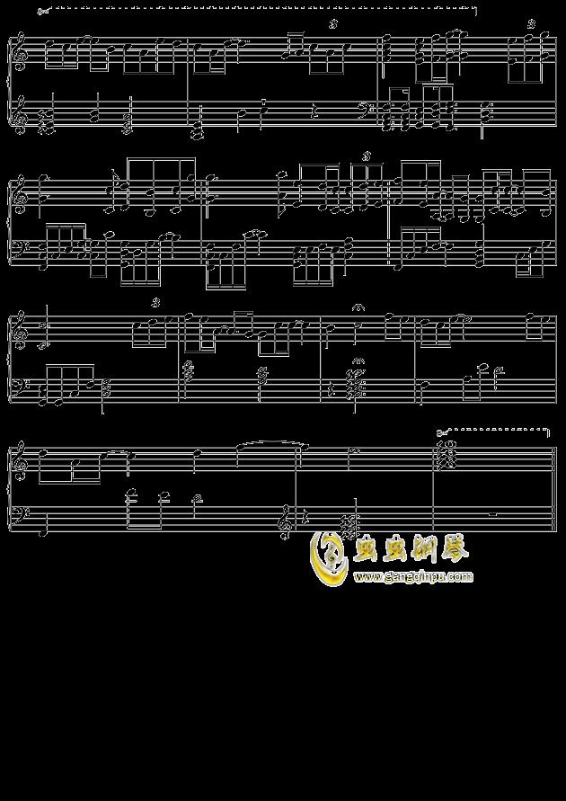 摩天轮的思念钢琴谱 第4页