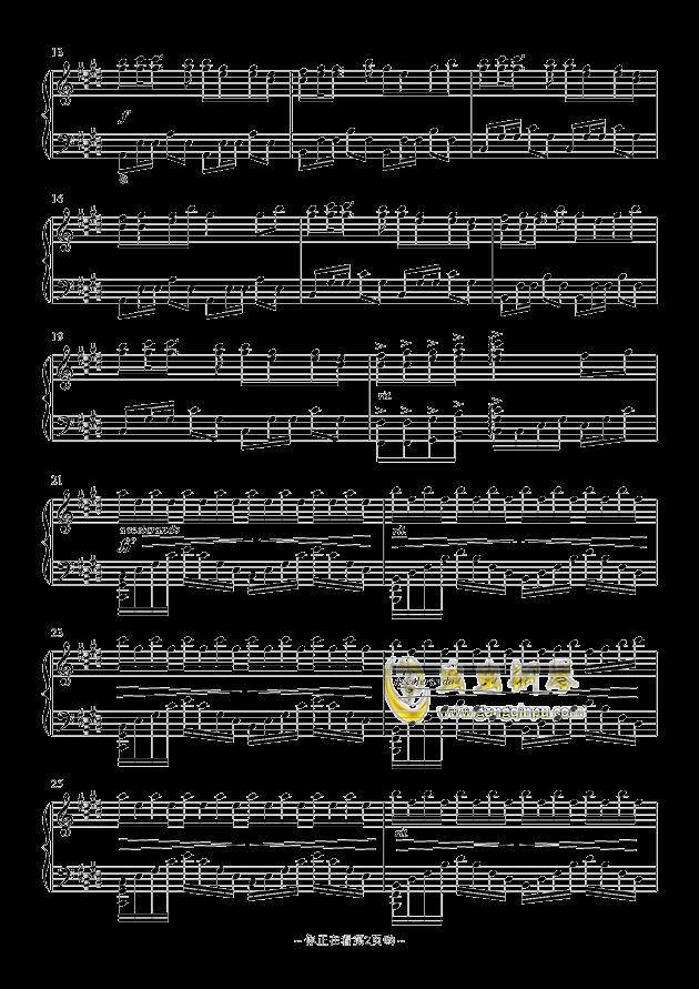 崎岖钢琴谱 第2页