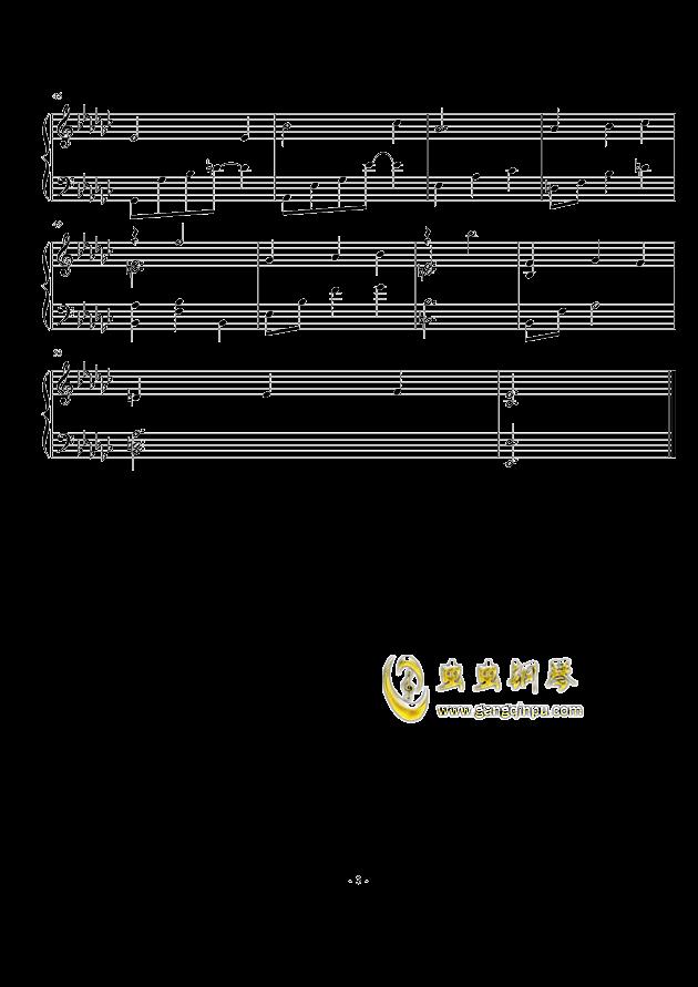 时光笔墨钢琴谱 第3页
