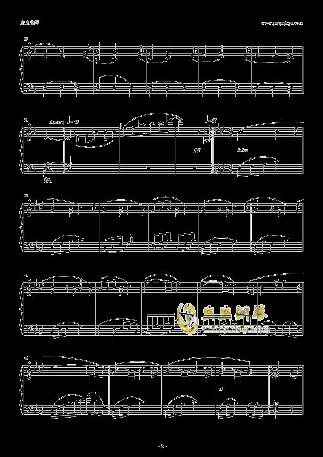 seventh heaven钢琴谱 第2页