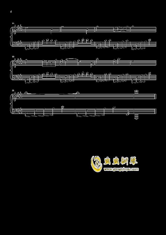 唱 When its lonely ,我为你歌唱 When its lonely 钢琴谱,我为你歌唱