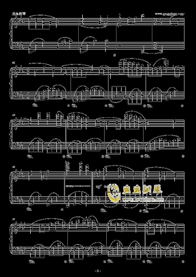 fairytale钢琴谱 第3页