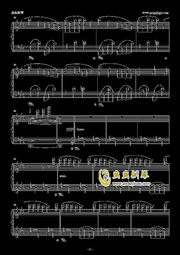 fairytale钢琴谱 第5页