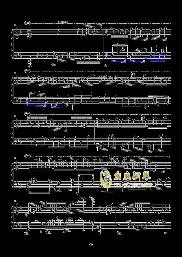 秋霜奏鸣曲钢琴谱 第2页
