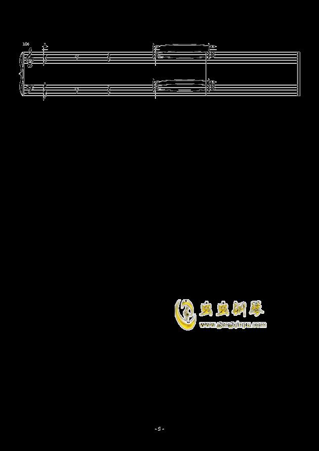 乃木坂46--シ�`クレットグラフィティ�`钢琴谱 第5页