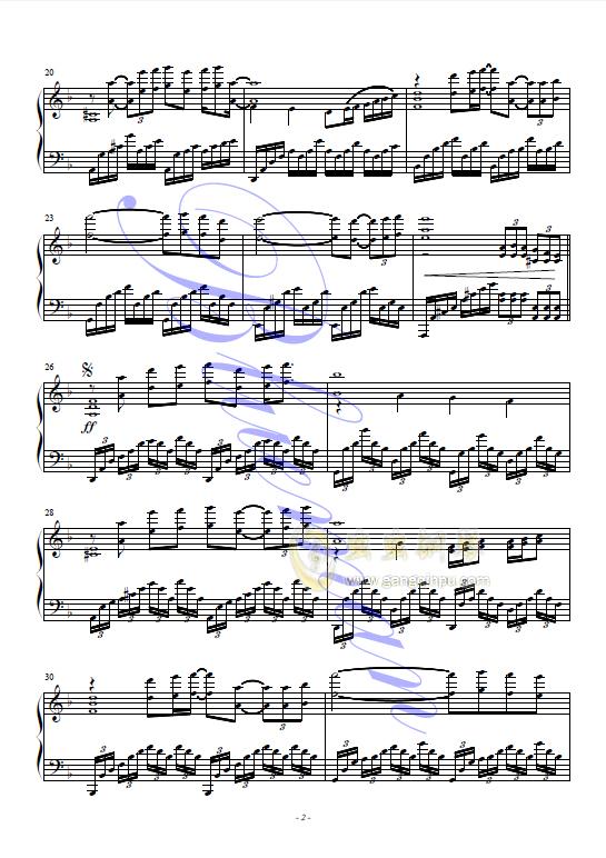 茉莉花小提琴曲谱薛伟版-钢琴谱 暗香 man blue