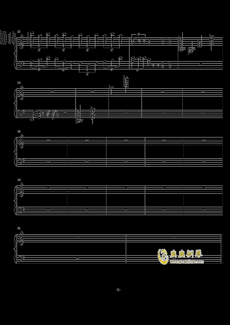 练习曲钢琴谱 第2页