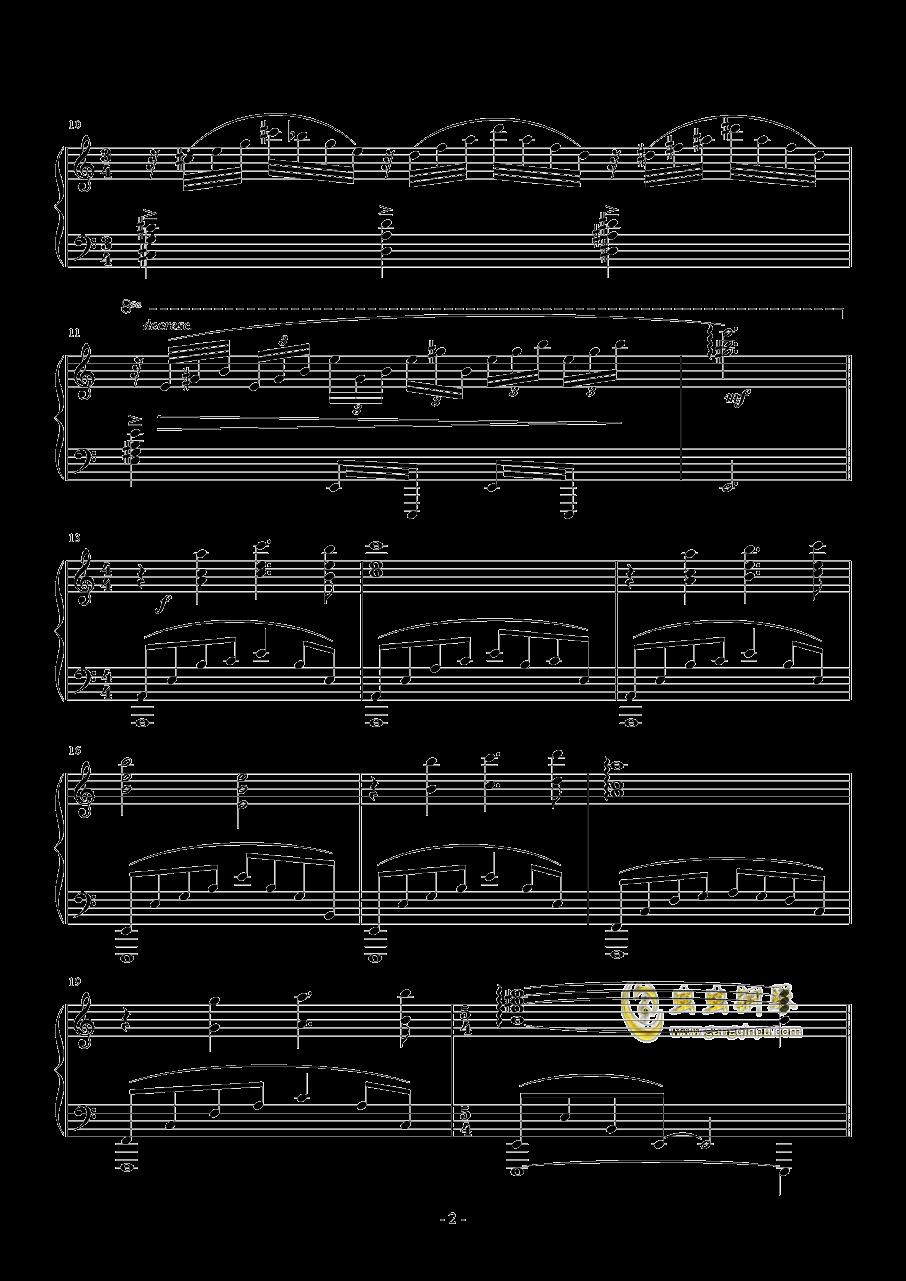 La Ballata Di Sacco E Vanzett钢琴谱 第2页