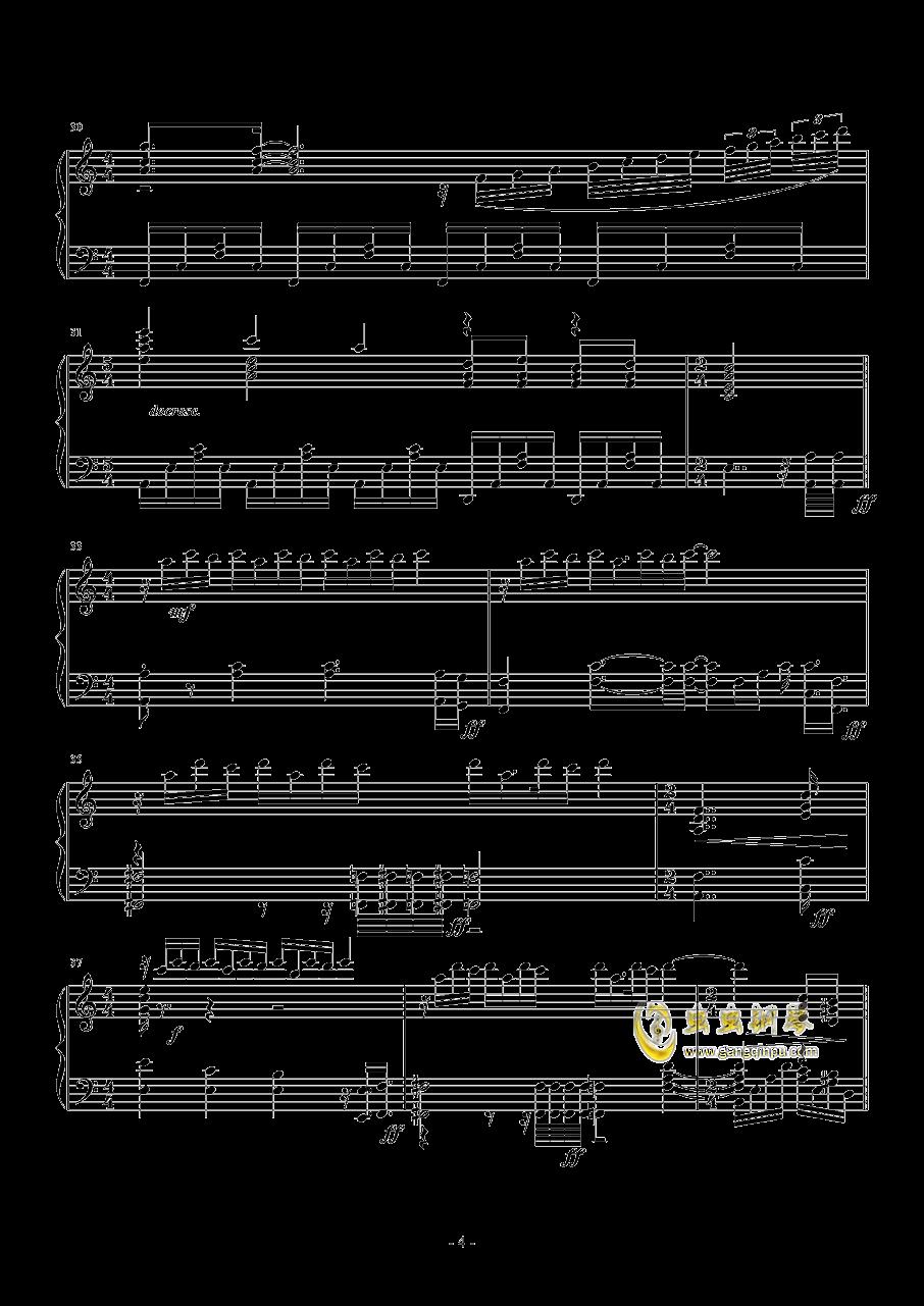 La Ballata Di Sacco E Vanzett钢琴谱 第4页