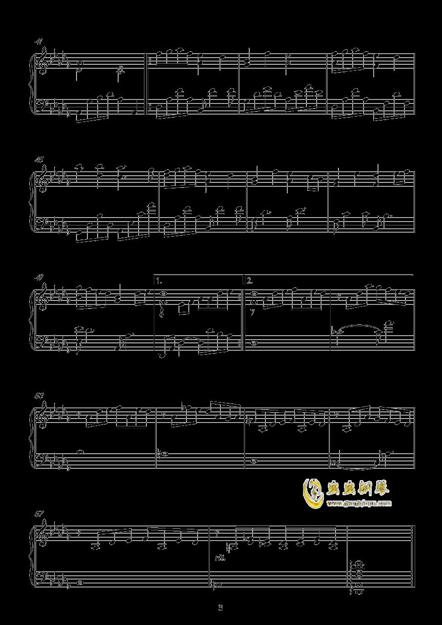 Show Dreams钢琴谱 第3页