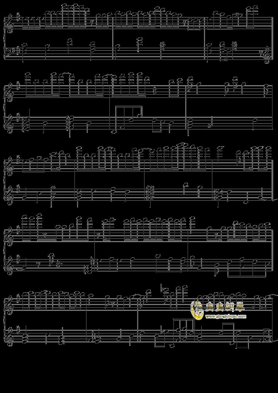 初音未来 オレンジ钢琴谱 第4页