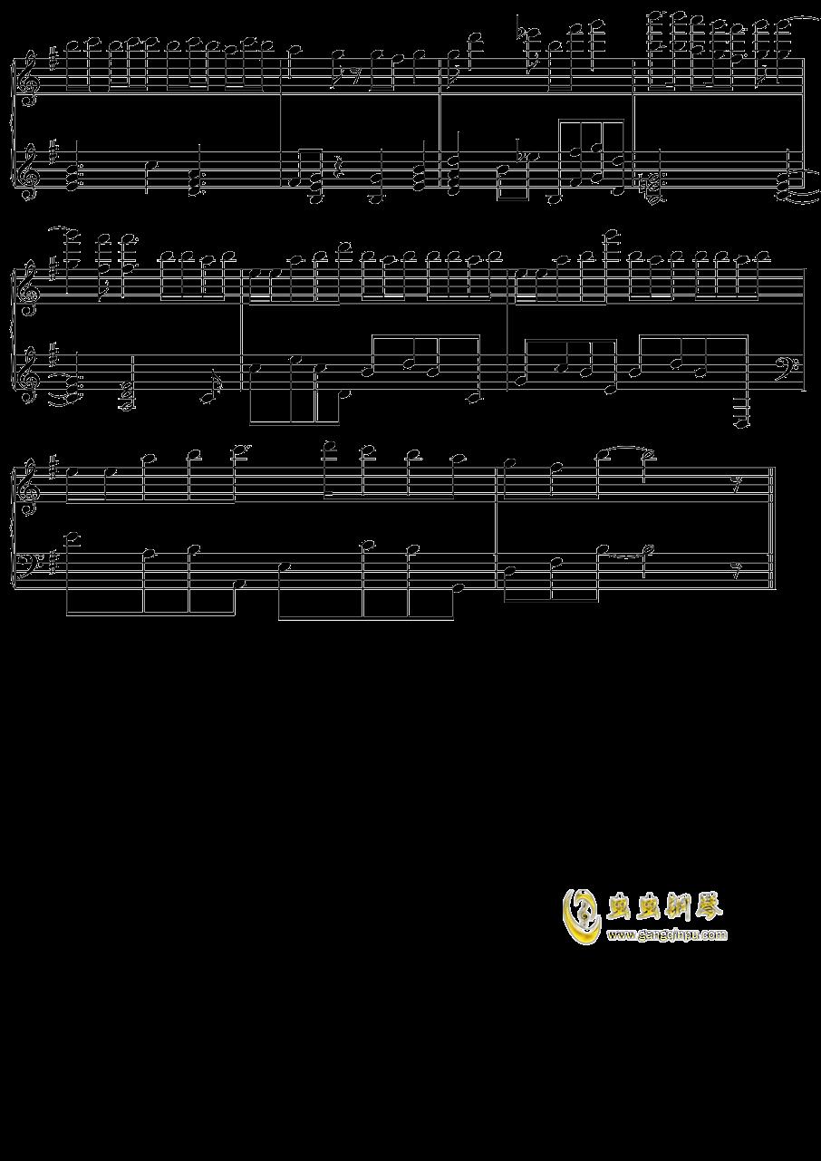 初音未来 オレンジ钢琴谱 第6页