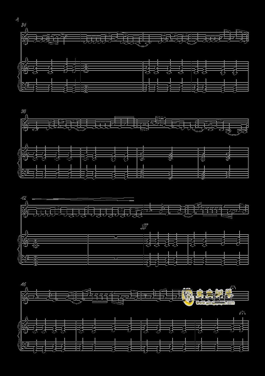 Million reasons钢琴谱 第4页