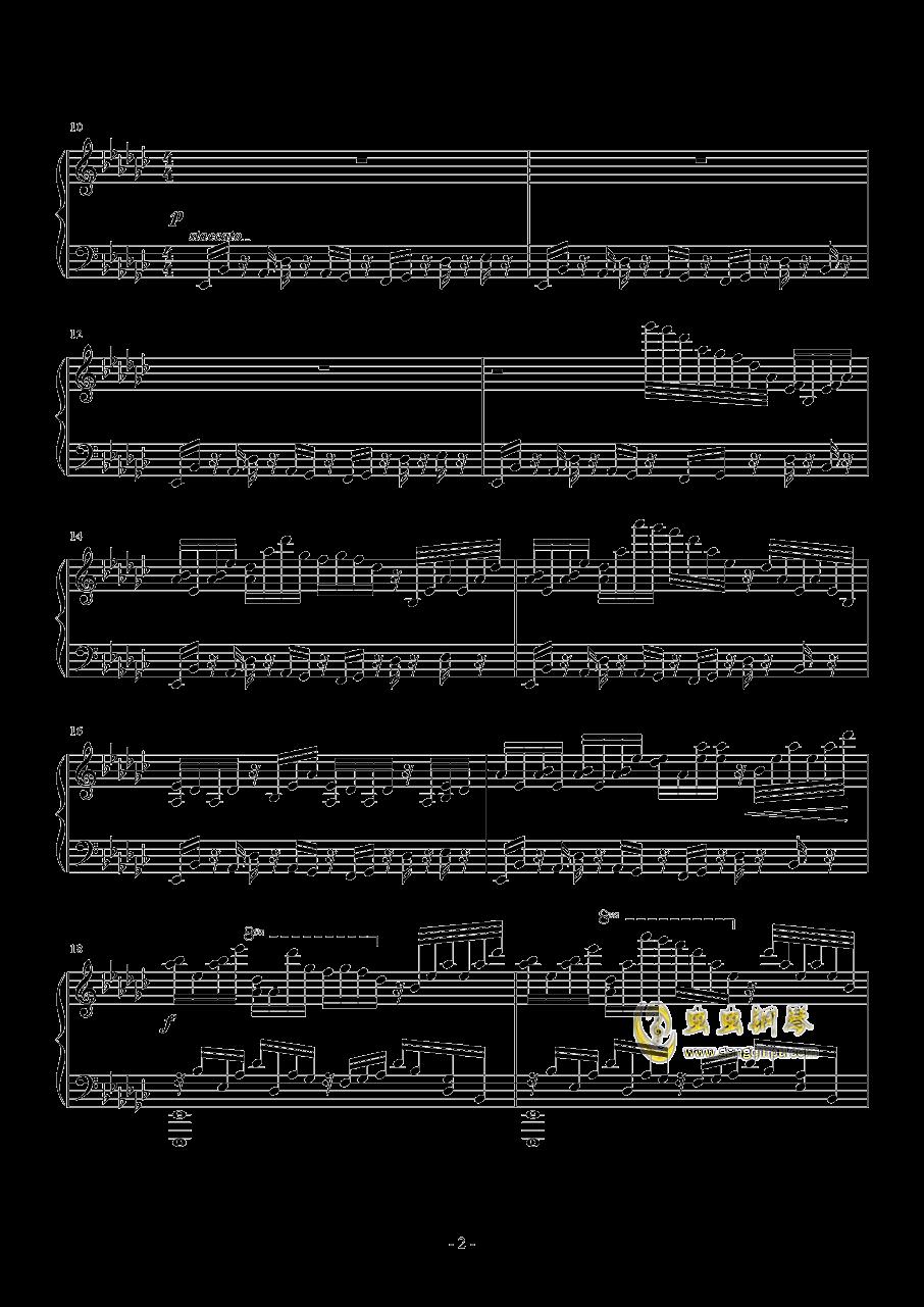 kouyou钢琴谱 第2页