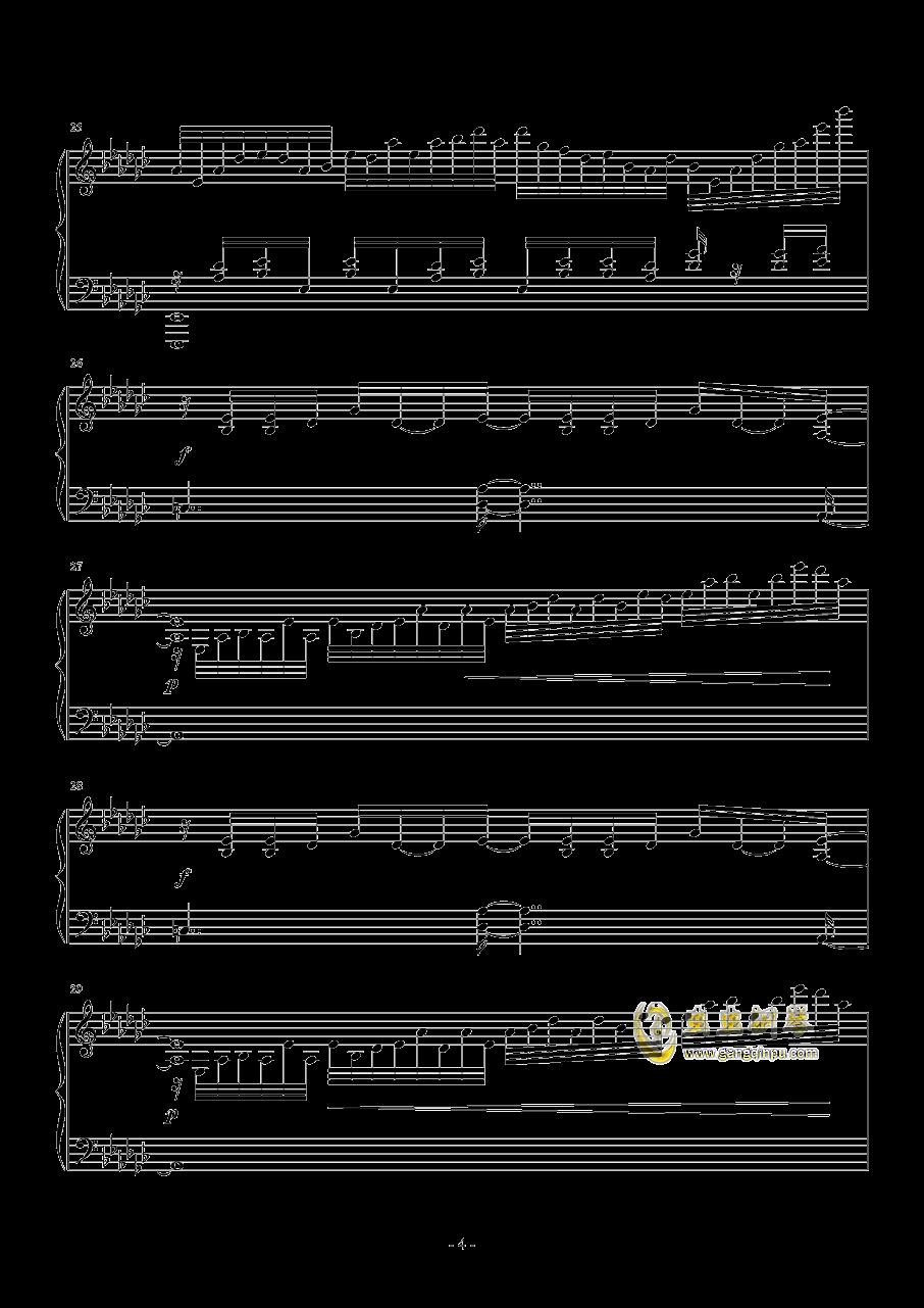 kouyou钢琴谱 第4页