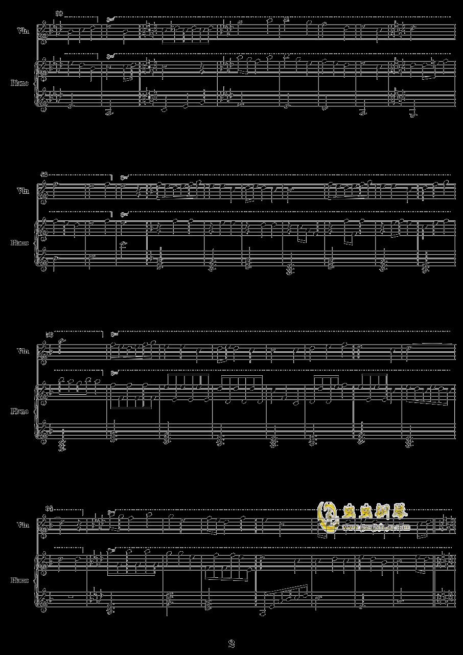 潘朵拉之心钢琴谱 第2页