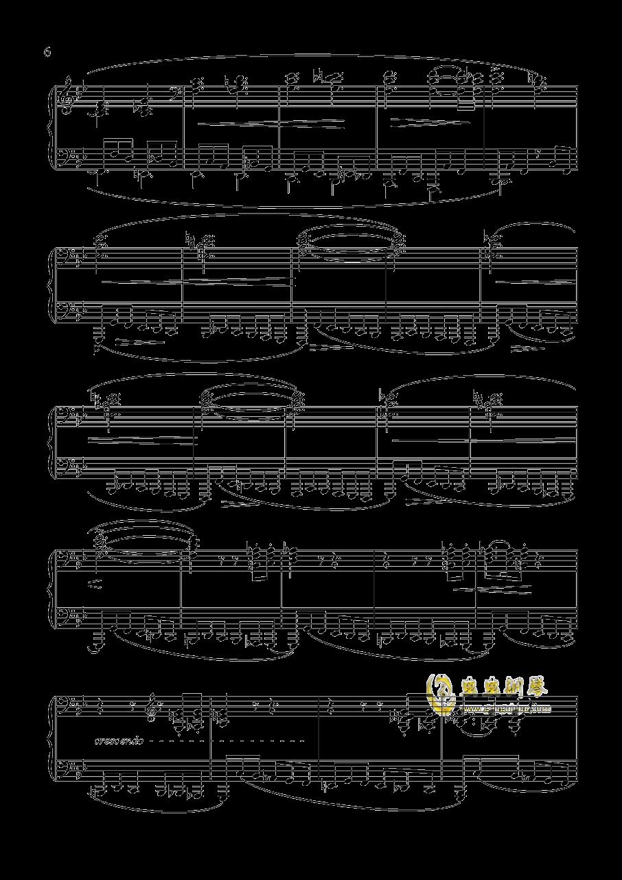 舒曼 幻想曲集 Op.12 冲动钢琴谱 第6页