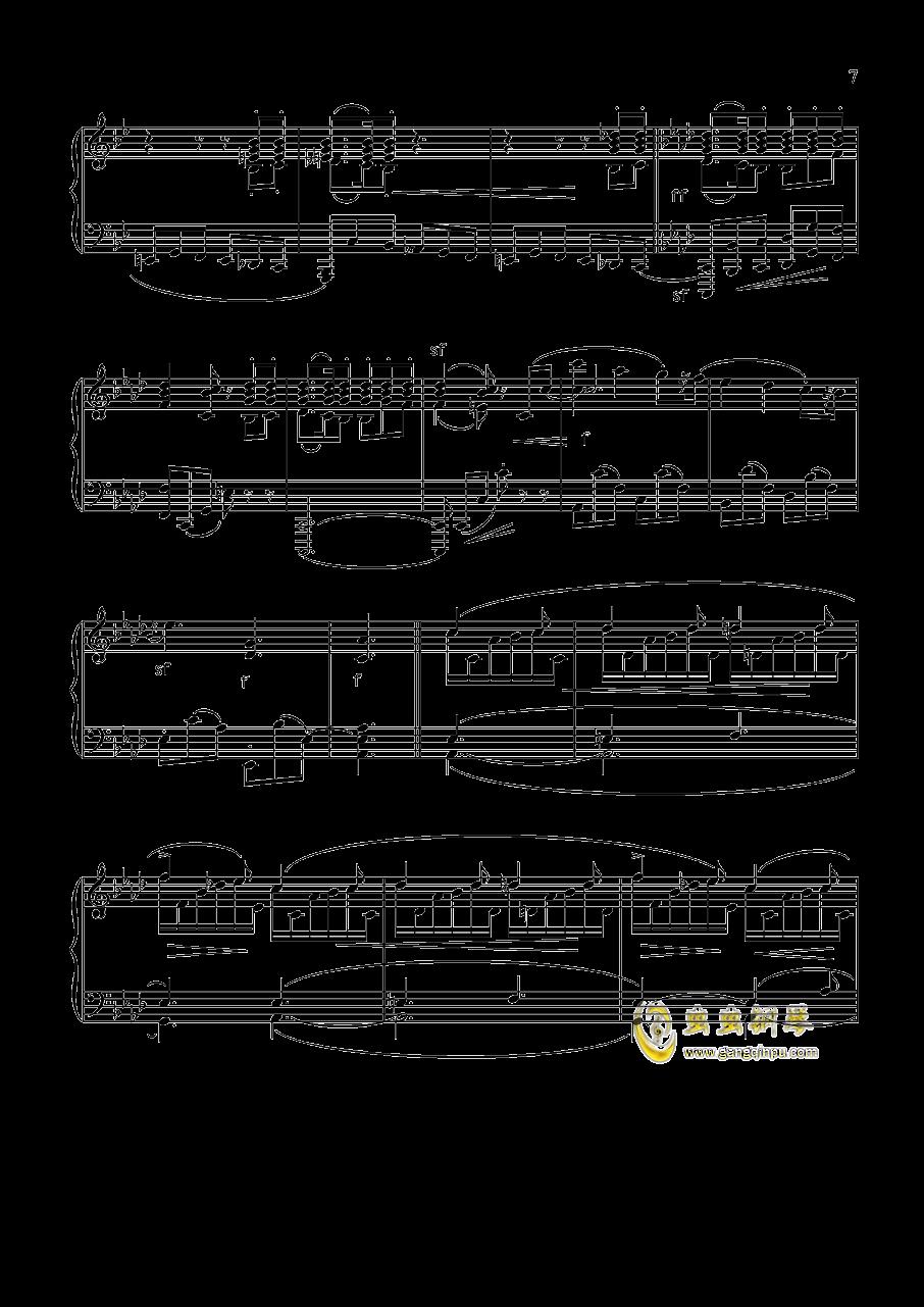 舒曼 幻想曲集 Op.12 冲动钢琴谱 第7页