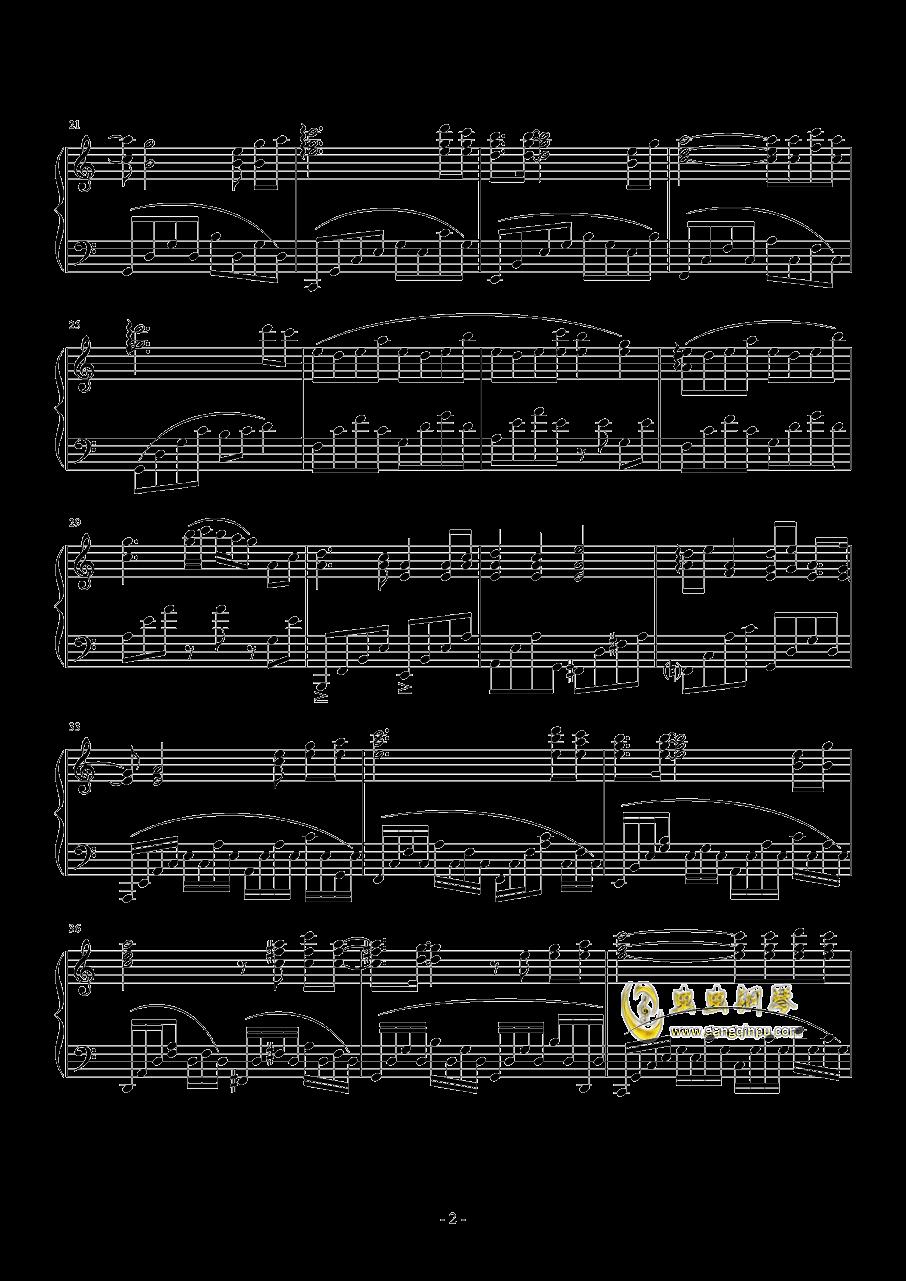 在这个世界相遇钢琴谱 第2页