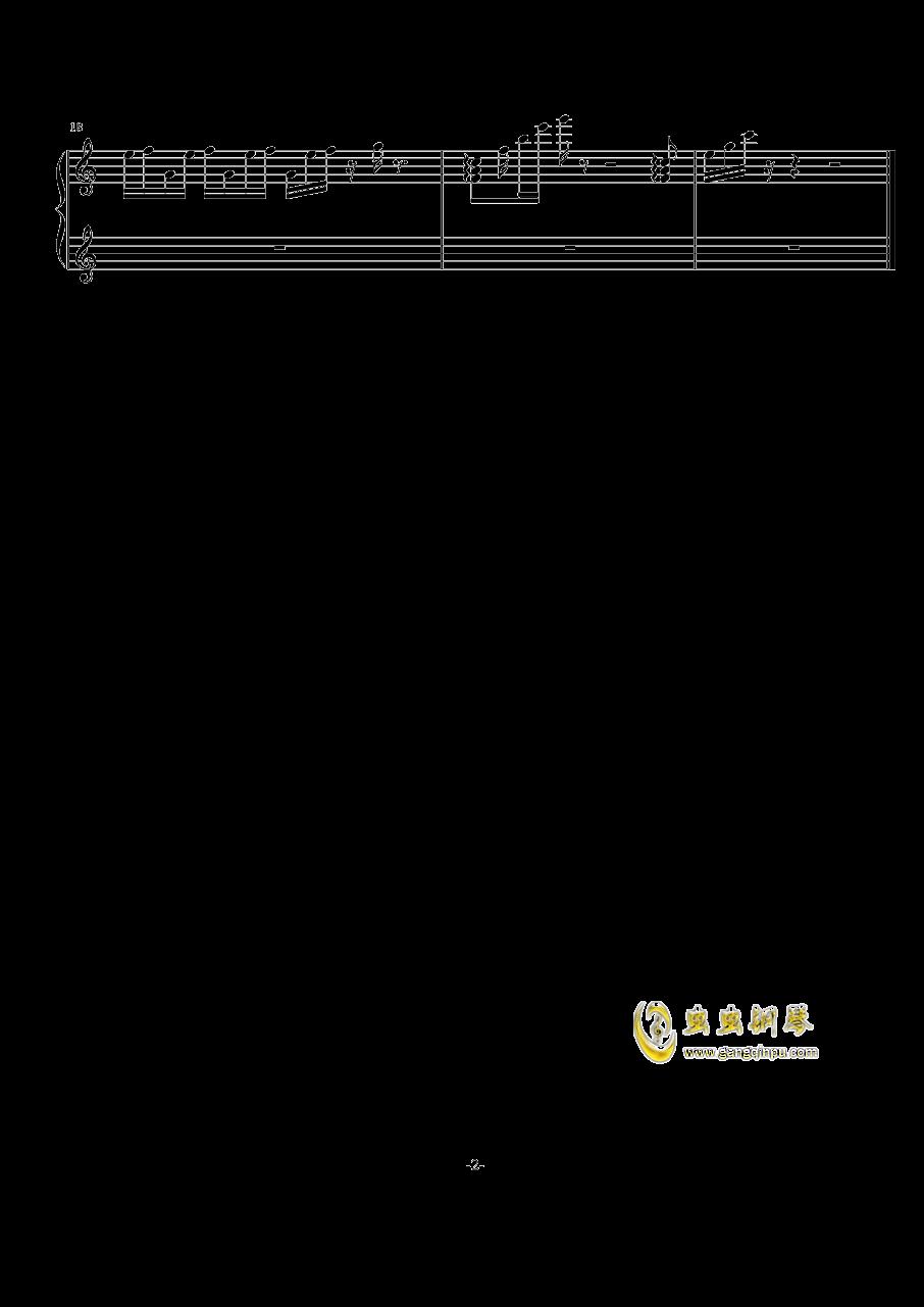 清风钢琴谱 第2页