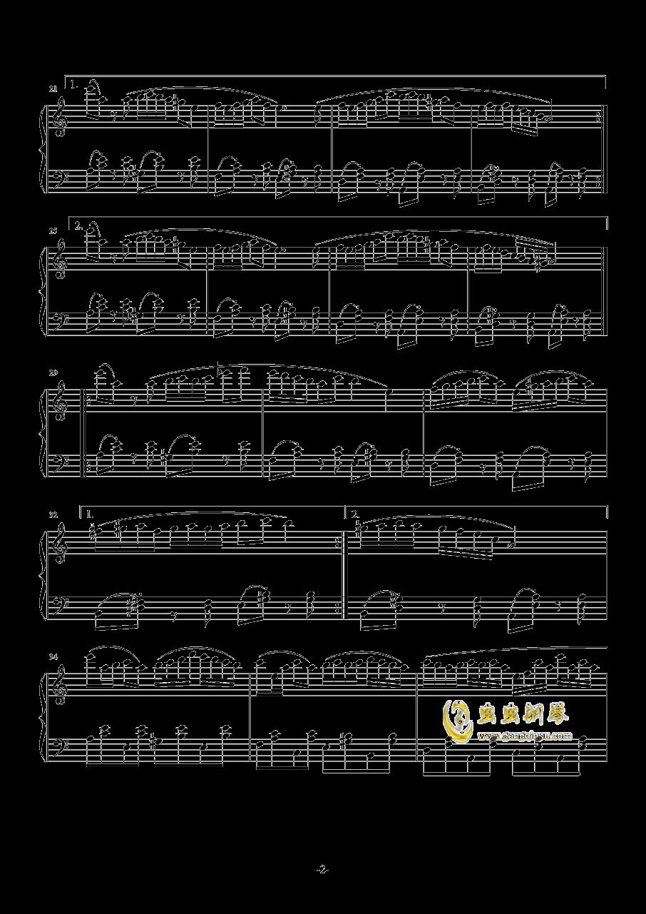 NIGHTY钢琴谱 第2页