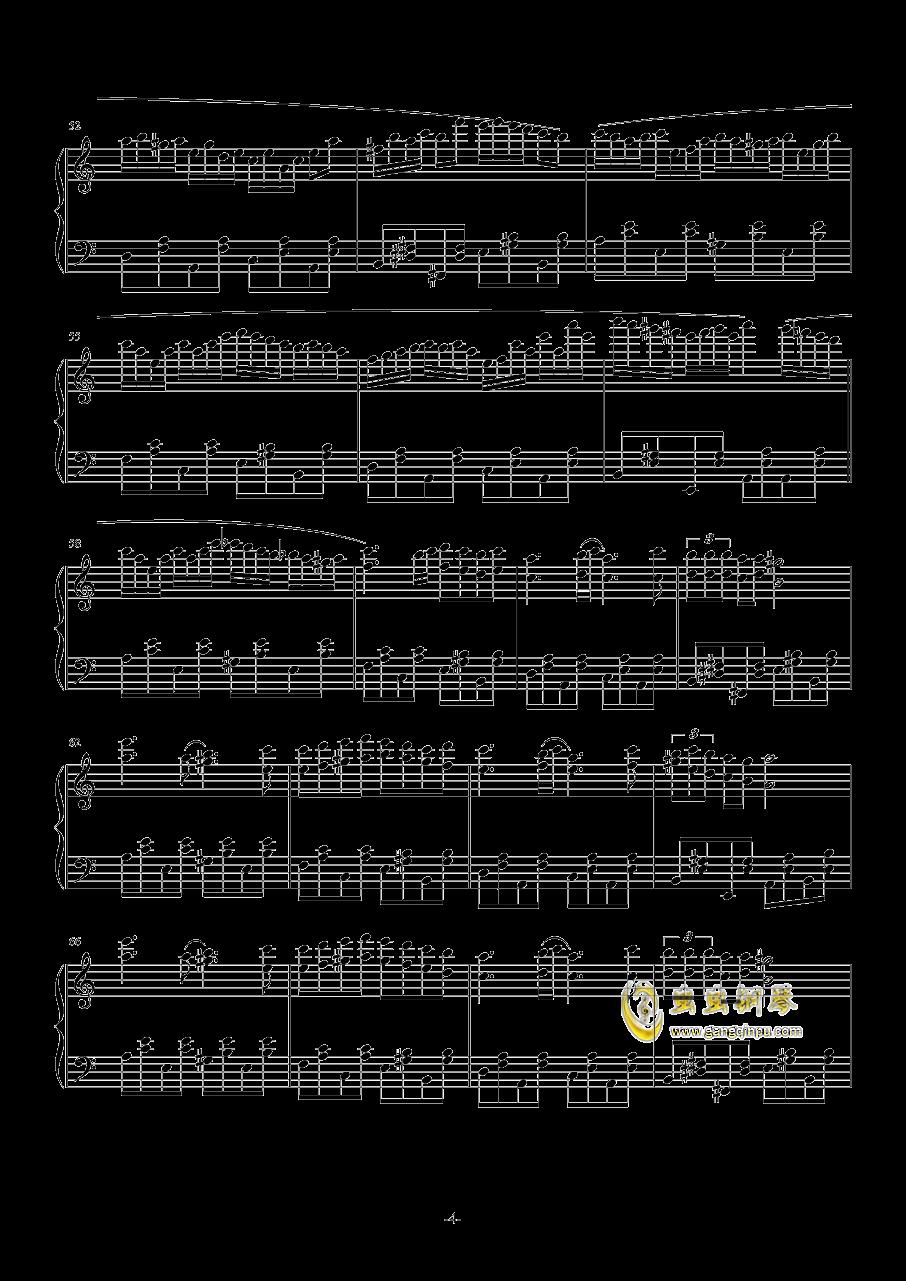NIGHTY钢琴谱 第4页