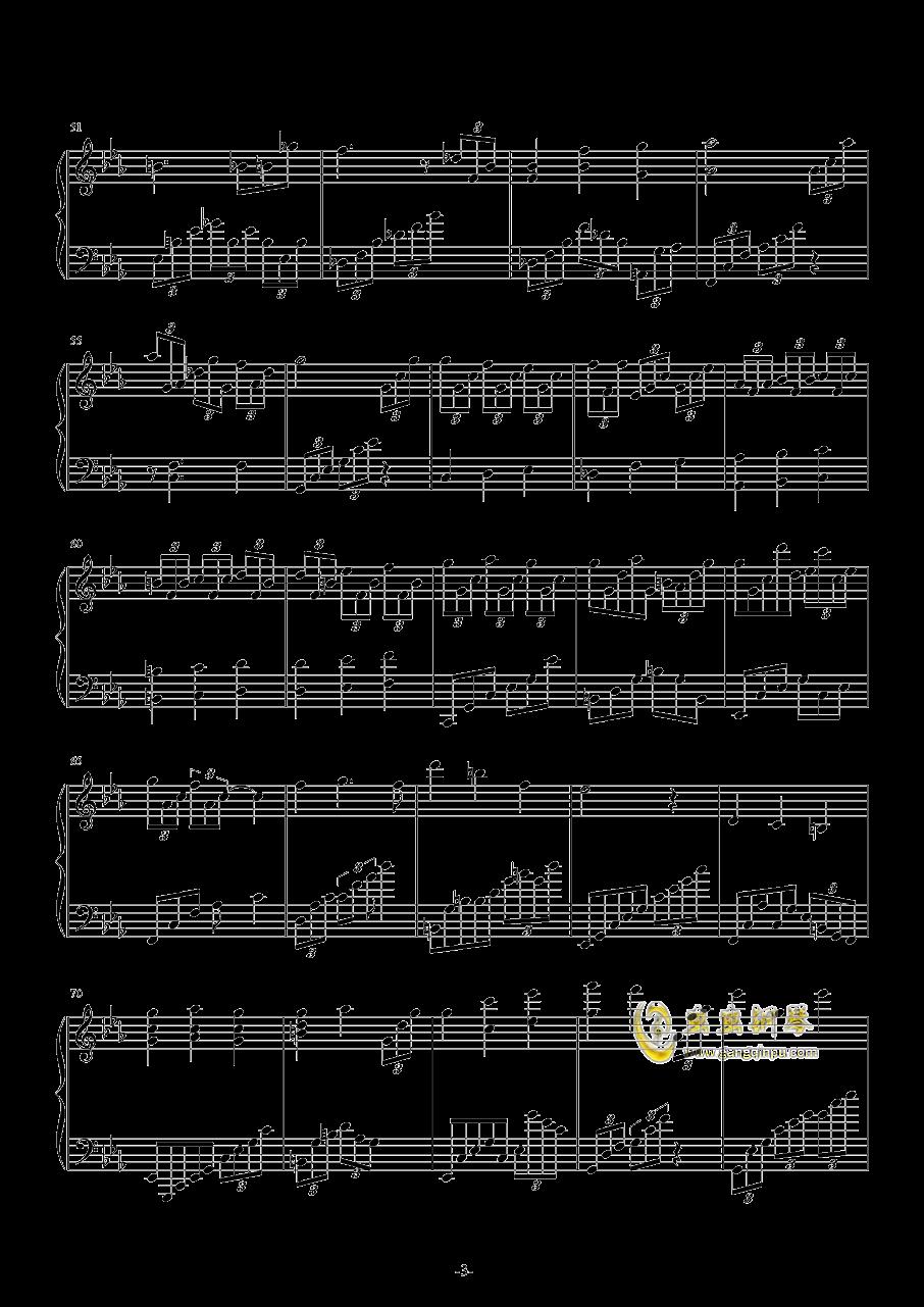 Leningrad 钢琴谱 第3页