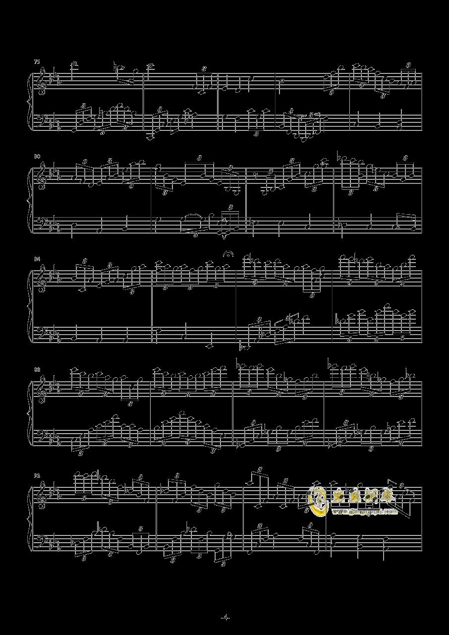 Leningrad 钢琴谱 第4页