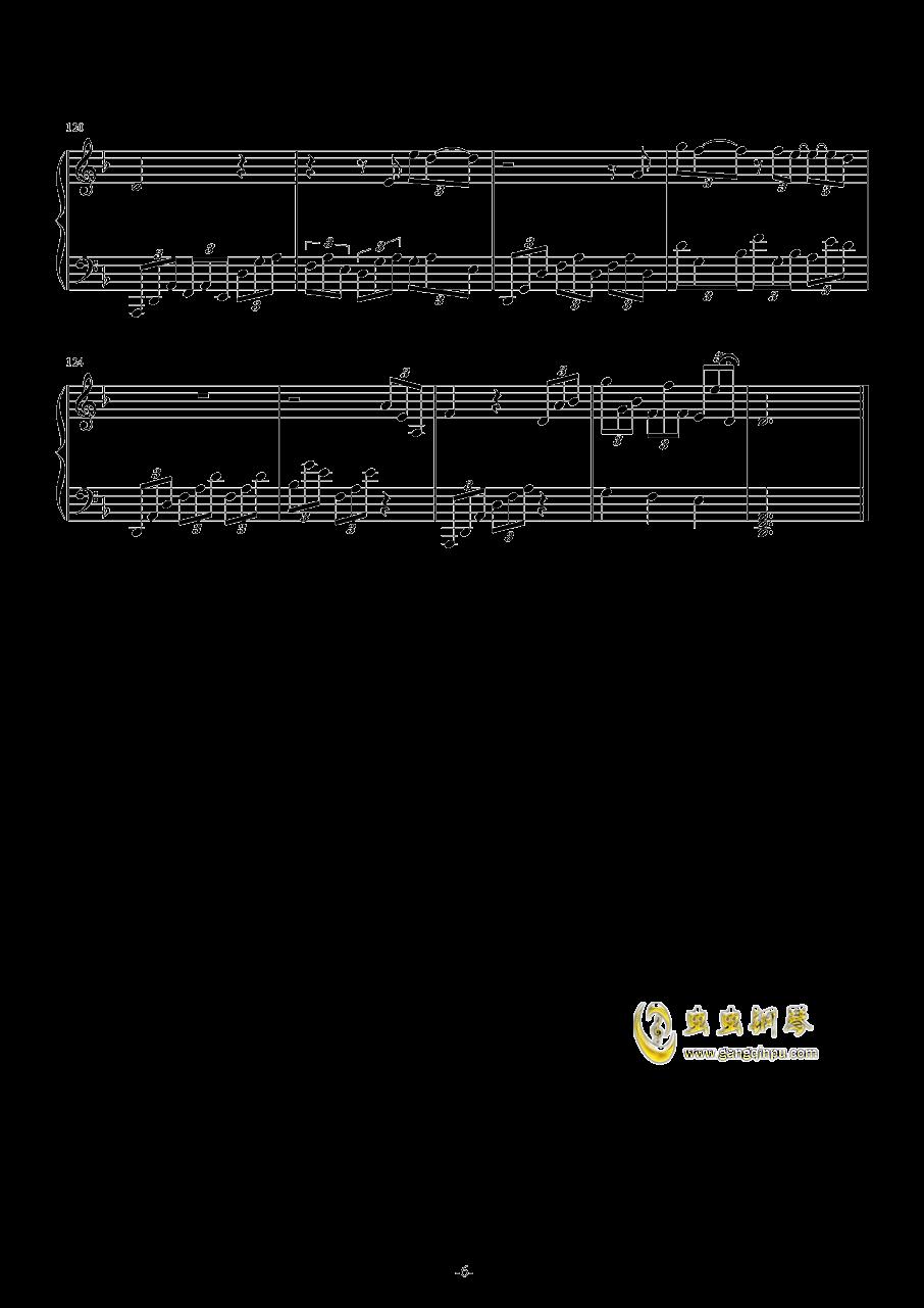Leningrad 钢琴谱 第6页