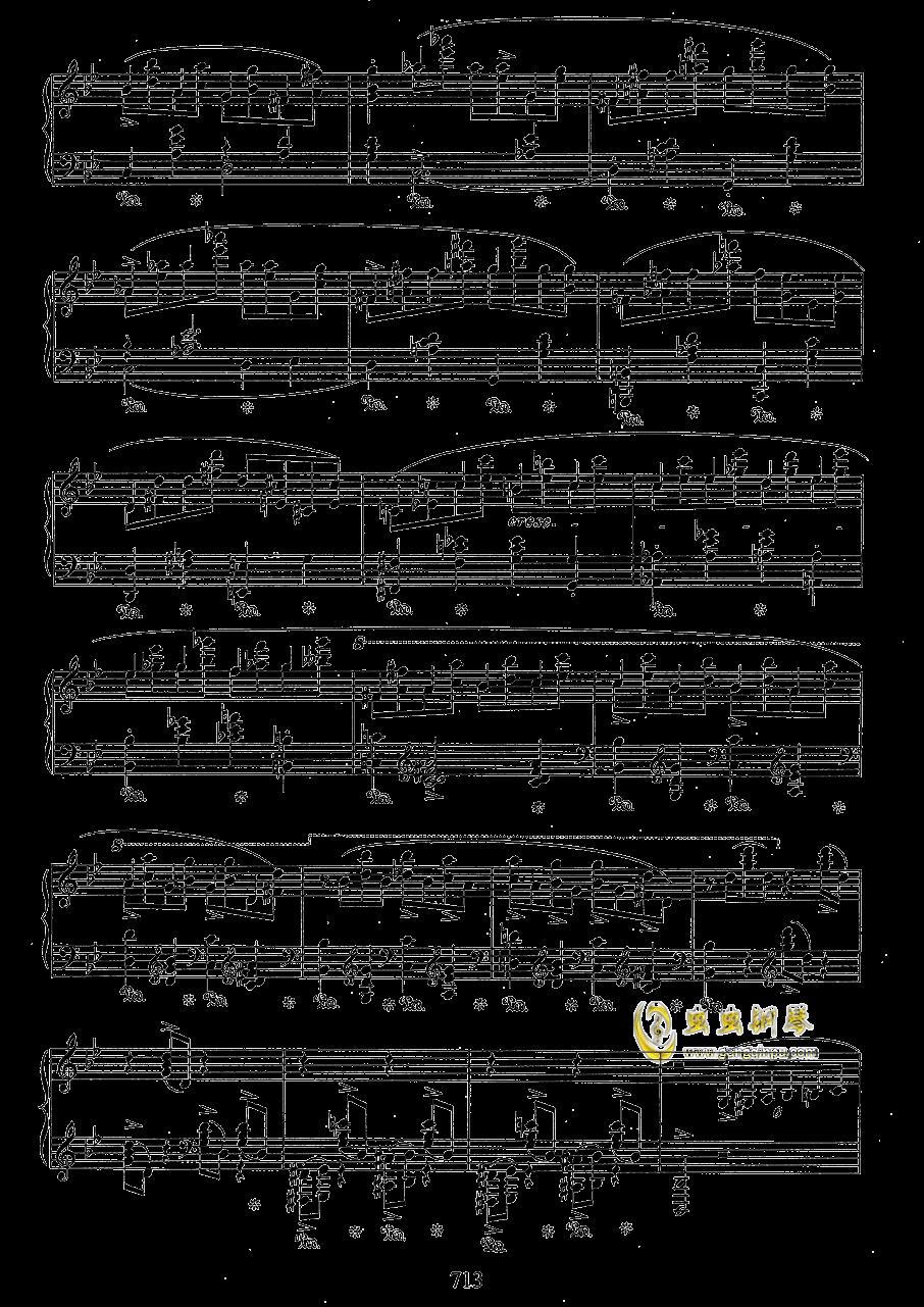 g小调叙事曲 带指法版钢琴谱 第13页