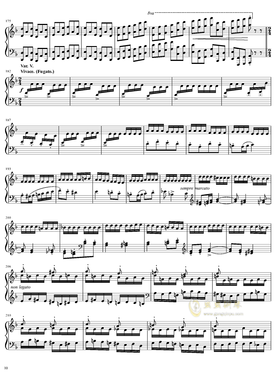 死之舞钢琴谱 第10页