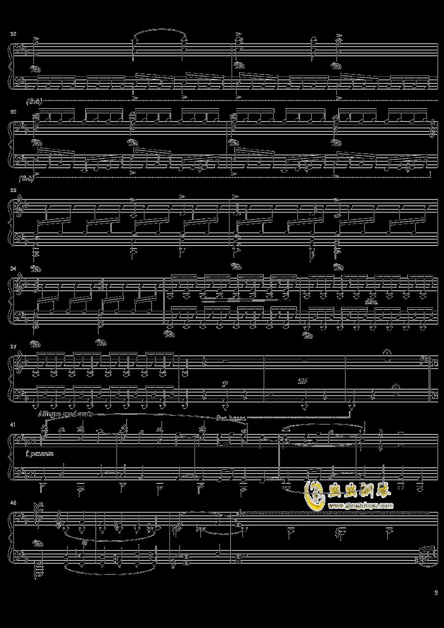 死之舞钢琴谱 第3页