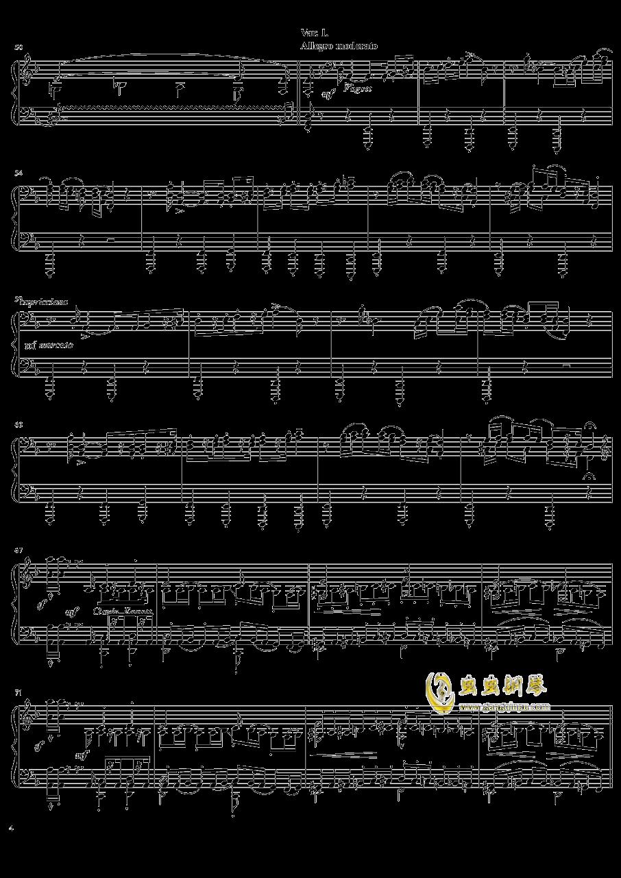 死之舞钢琴谱 第4页