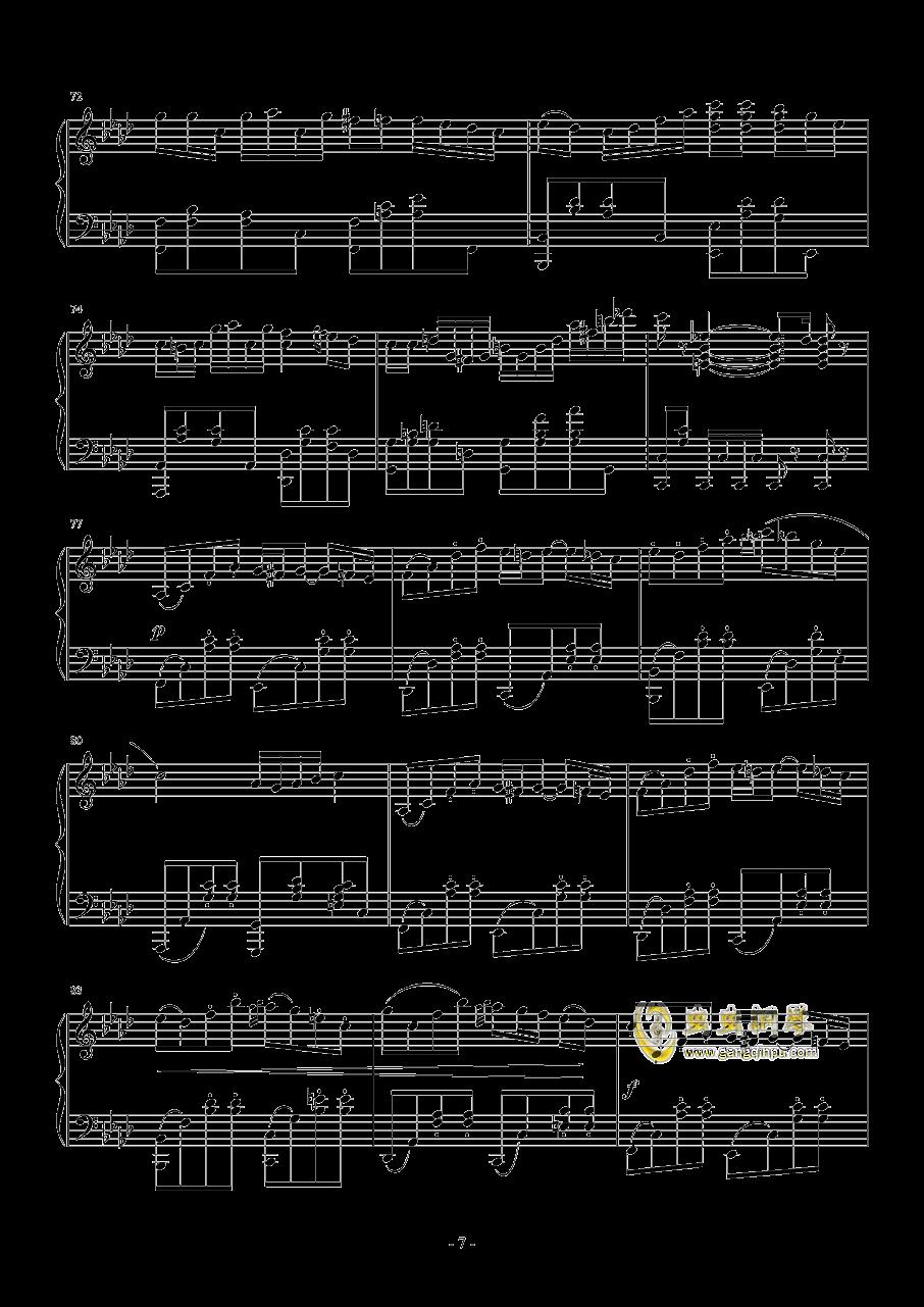 Quo Vadis钢琴谱 第7页