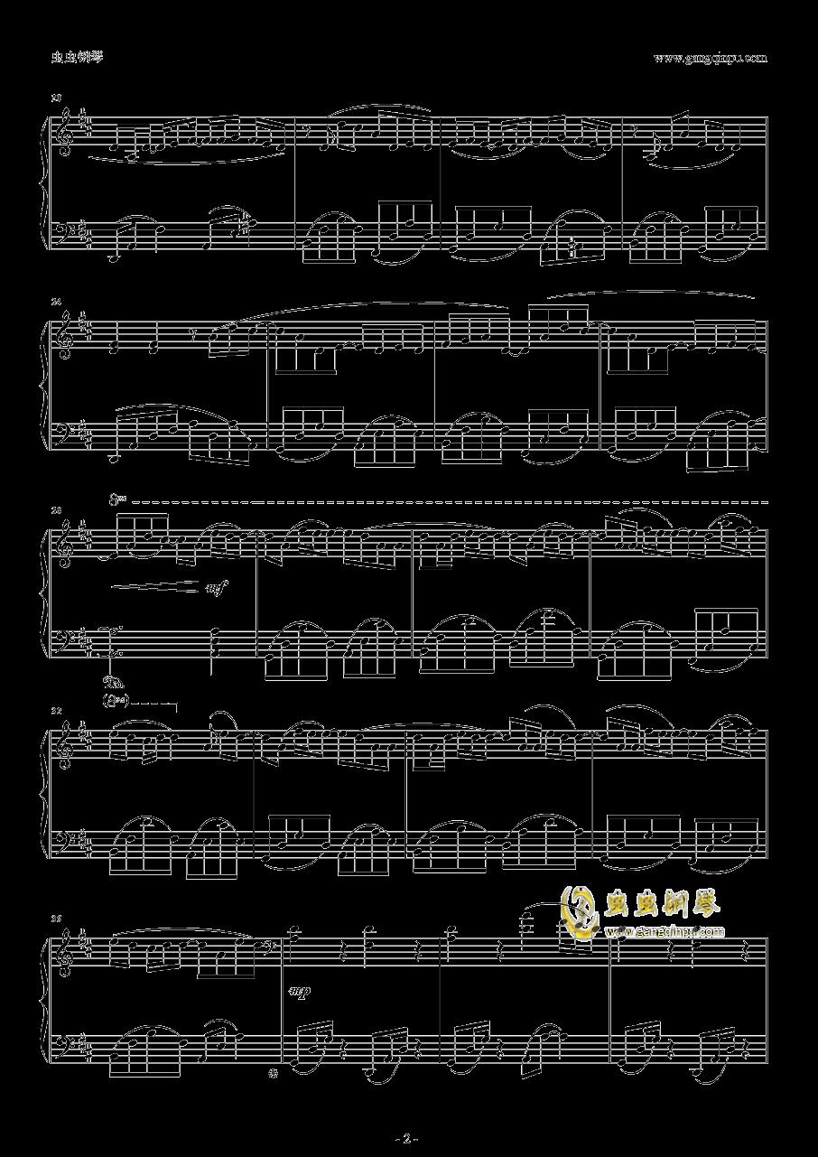 鹿乃钢琴谱 第2页