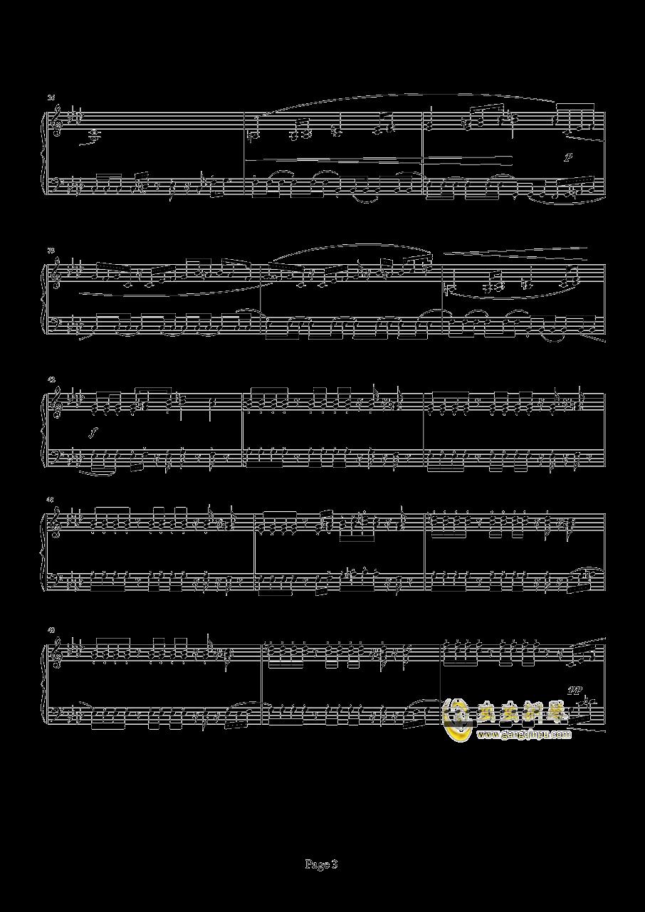 魂斗罗钢琴谱 第3页