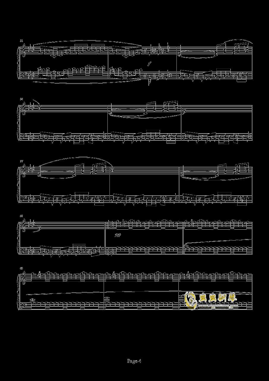 魂斗罗钢琴谱 第4页