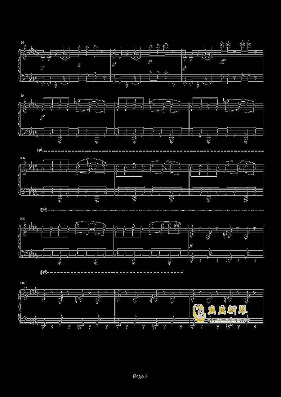 魂斗罗钢琴谱 第7页