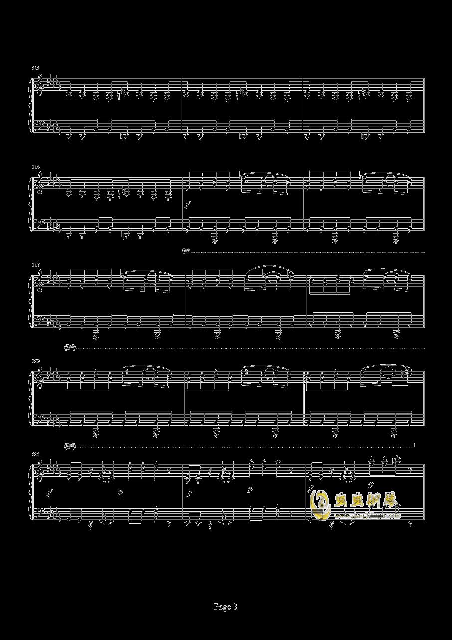 魂斗罗钢琴谱 第8页